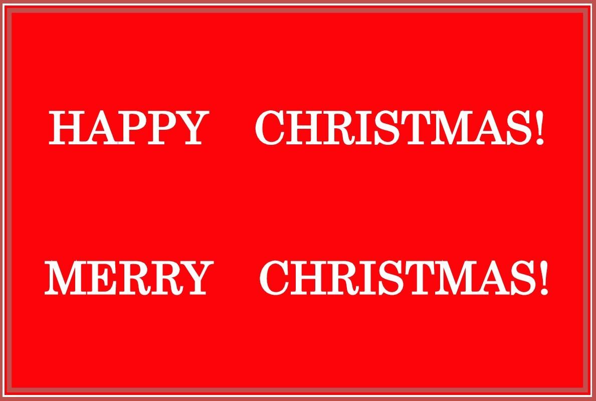 意味を知って使い分けよう!Happy Christmas! Merry Christmas!クイズ