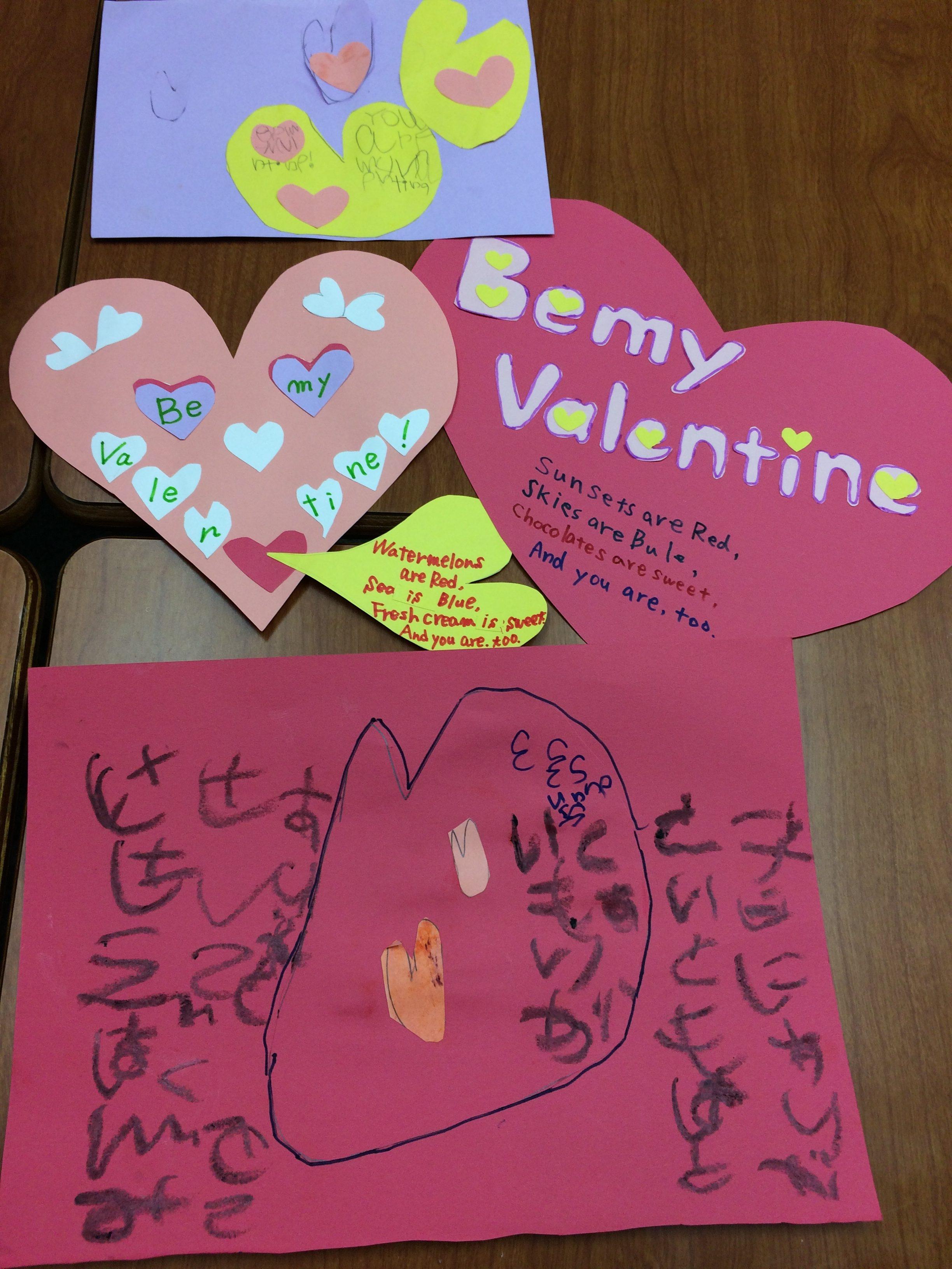 Be my Valentine! おうち英語スクール的バレンタインの楽しみ方