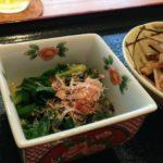 お料理⭐︎ときどきおうち英語♪ニラのおひたし(Blanched, seasoned leek)