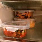 ダイソーの保存容器、耐熱ガラス食器で冷蔵庫内スッキリ、食卓がおしゃれに♪